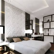 Pvc Panel Design For Bedroom Rayuan 4pcs Pvc 3d Wall Stickers White Wall Panel Flame