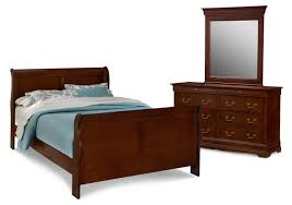 bedroom furniture neo classic 5 piece queen bedroom set cherry
