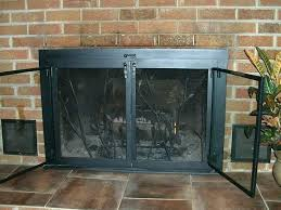 fireplace screen replacement how to replace fireplace doors glass door fireplace screens replace fireplace glass insert heatilator gas fireplace screen