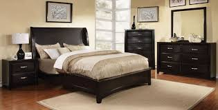 Full Size of Bedroom:appealing Willow Creek Black Platform Storage Bedroom  Set, Cm7690bk Q ...