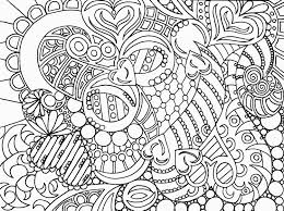 Stress Relief Coloring Pages Easy L