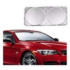 Windshield Sun Shades With Designs Us 6 55 27 Off Car Front Rear Windshield Sunshade Dashboard Cover Visor Glass Front Window Sun Shade Foldable Cover Universal Car Accessories In
