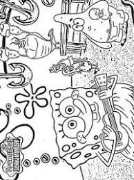 Spongebob Kleurplaten Topkleurplaatnl