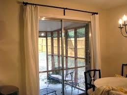 curtain rod for sliding glass doors sliding door curtain rod rare curtain rod sliding glass door
