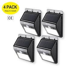 ARILUX ALSL12 Solar Power 7W 80 LED PIR Sensor Light Outdoor 80 Led Solar Security Light
