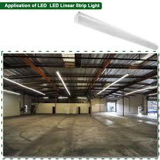 E2 Lighting Inc Led Linear Strip Fixture Light Low Bay Commercial Light