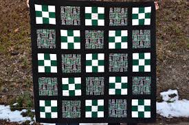 Marshall University Quilt   Sew Patched Up & The back has to be my favorite part though. I quilted it with straight  lines and than added in a bunch of diagonal. The quilting was done so that  there are ... Adamdwight.com