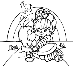 Small Picture coloring pages of rainbow britegif coloring posters for kids