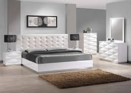 grey and white bedroom furniture. White Bedroom Furniture Bedding Ideas Fabric Bed Frame Soft Wool Fluffy Pillows High Brown Varnished Wood Painted Wooden Sliding Grey And T