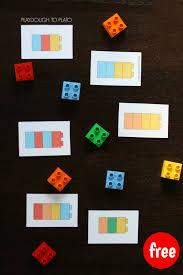 Lego Patterns Custom LEGO Pattern Cards Playdough To Plato