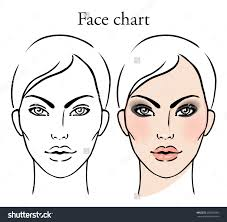 James Face Chart Female Face Drawing Template At Getdrawings Com Free For