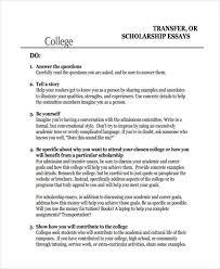 Transfer Essay Examples College Transfer Essays Under Fontanacountryinn Com