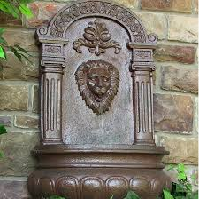 wall mounted water features for the garden