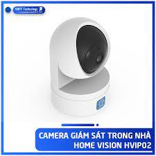 Camera IP Wifi VNPT Technology ONE HOME HVIP01 xoay 360 quan sát rõ ngày và  đêm kèm thẻ 16Gb hàng Việt Nam - Hệ thống camera giám sát
