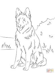 Verse Kleurplaten Honden Duitse Herder Krijg Duizenden