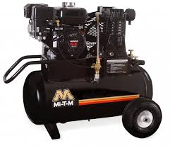 air compressors mi t m industrial air compressors mi t m began manufacturing portable air compressors in 1999 as an extension of the existing industrial and contractor grade equipment