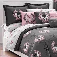 Bone Collector Pink & Gray Sheet Set Queen