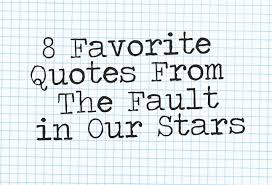The Fault In Our Stars Quotes Gorgeous 48 Favorite Quotes From The Fault In Our Stars Manillenials