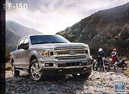 2018 F 150 Towing Chart 2018 Ford F 150 Truck 58 Page Sales Brochure Catalog Svt Raptor King Ranch
