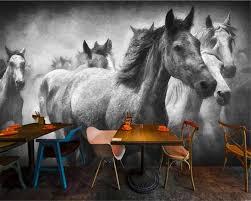 Beibehang Foto Muurschildering Behang Creatieve Vliegende Paard