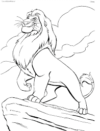 coloring lion king printable coloring pages colouring 2