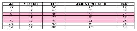 Size Chart Faq Halcyn