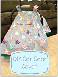 15 diy baby car seat covers