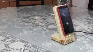 diy nexdock wireless charger stand