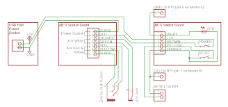 raspberry pi in a nes case wiring revisited igor kromin dc power socket wiring diagram Power Socket Wiring Diagram #16