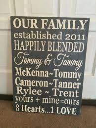 wall art designs personalized wall art blended family wood sign for stylish property personalized wall decor for home ideas on personalized wall art wood with wall art designs personalized wall art blended family wood sign for