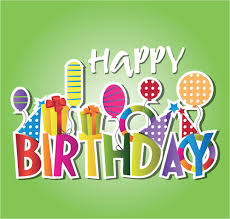 happy birthday design creative happy birthday design elements vector art free vector in