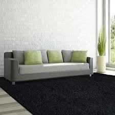 comfort black 5 ft x 7 ft area rug