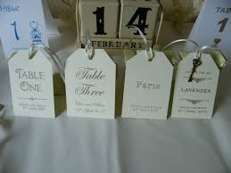 table names wedding. Wedding Table Number/Name Personalised Tags-Vintage-Brown Kraft/Ivory/White Names S