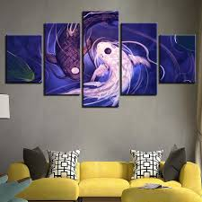 5 piece fish koi yin yang canvas wall art paintings it make your day  on yin yang canvas wall art with 5 piece fish koi yin yang canvas wall art paintings for sale it