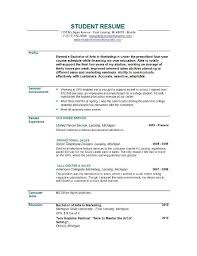 Objective For Resume For Students Example Resume Objective GeneralResumeObjectiveExample Sample 19