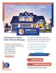 securing your future with a reverse mortgage free lunch learn