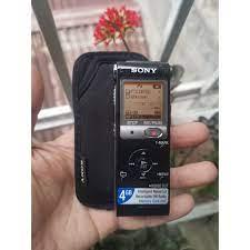 Máy ghi âm Sony ICD-UX513F dung lượng 4G có thêm khe cắm thẻ nhớ rời kèm  bao chống sốc. tại Hà Nội