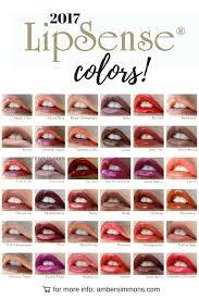 New 2017 Lipsense Color Chart Beauty Ambersimmons Com