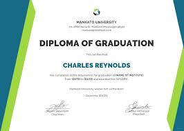 Free Sample Diploma Certificate Template In Ms Word Publisher For