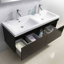 55 inch double sink bathroom vanity:  virtu usa zuri  inch double sink wenge bathroom vanityjpg
