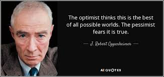 Oppenheimer Quote