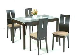 glass dining room tables and chairs breakfast table and chairs round glass top dining set furniture glass dining room