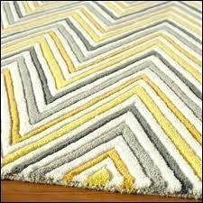 yellow and grey chevron rug gray rugs large