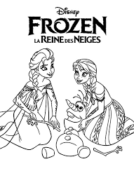 Elsa And Olaf Coloring Pages Stylish The Frozen Free Pertaining To 6