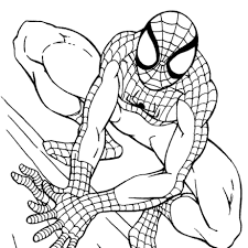 spiderman coloring. Beautiful Coloring Spiderman Coloring Pages 34 With  And I