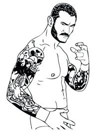 Coloring Pages Wwe Coloring Pages Hardy Boys And Matt Kane Wwe