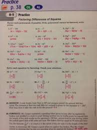 workbook answers mr grimes ideas of math worksheets factoring quadratic equations