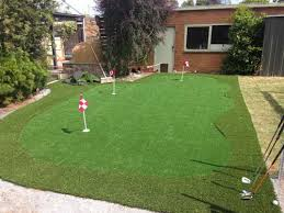 a perfect putting green for the backyard