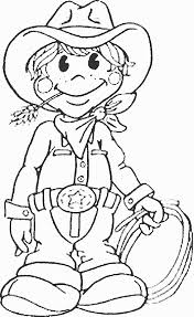 Small Picture Top 25 Free Printabe Cowboy Coloring Pages Online Cowboys