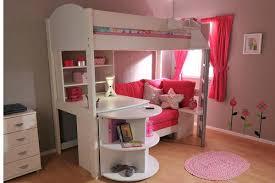 bunk beds kids desks. Kids Loft Bed With Desk Under Children Bedroom Bunk Beds Desks L